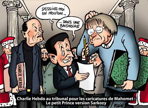 Caricatures de Mahomet : Sarkozy avocat de Charlie Hebdo