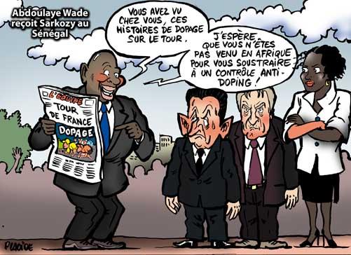 images humours. 07-07-27_Abdoulaye-Wade_kouchner_sarkozy