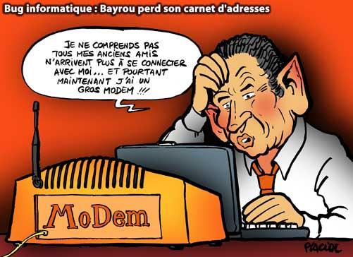 François Bayrou élu président du MoDem