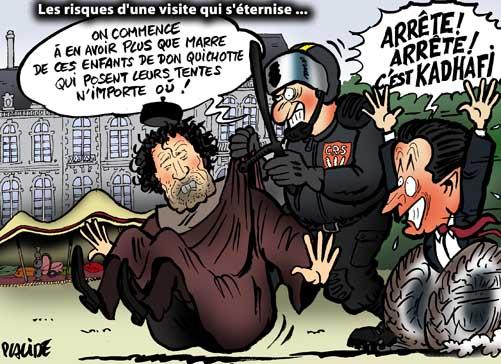 kadhafi menace l'europe  07-12-13-kadhafi-sarkozy