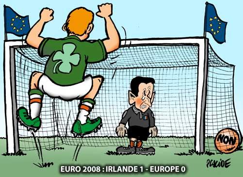 L'Irlande dit non au Traité de Lisbonne