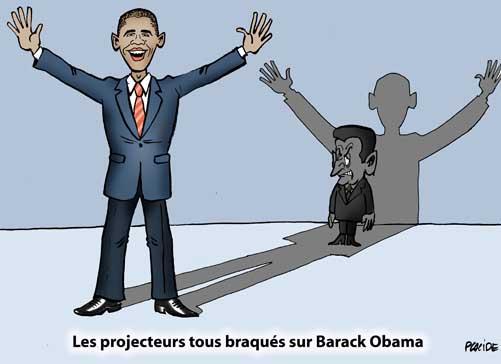 obama rencontre sarkozy