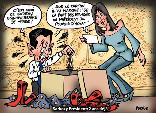 Deuxième anniversaire de la présidence de Nicolas Sarkozy