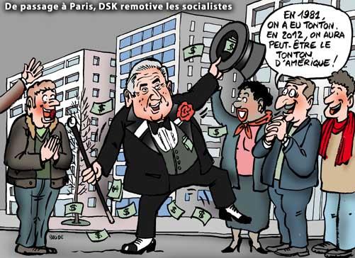 DSK, la nouvelle coqueluche des socialistes