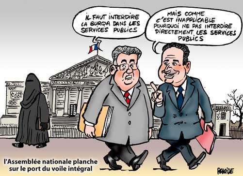 Placide difficile consensus de l 39 assembl e sur le port - La loi sur le port du voile en france ...
