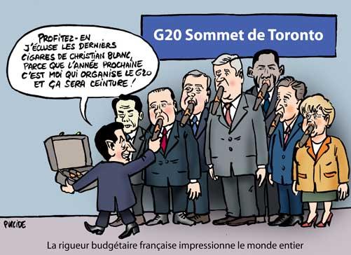 Le G20 à Toronto : Un sommet très