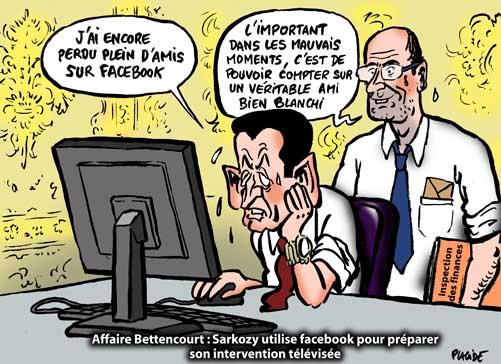 Bettencourt/Woerth, Nicolas Sarkozy prépare son émission télévisée
