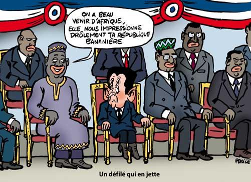 Les troupes de 13 Etats africains défilent pour le 14 juillet