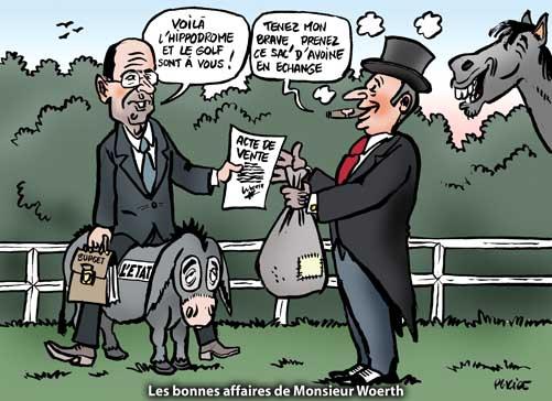 Hippodrome de Compiègne : Woerth toujours en courses
