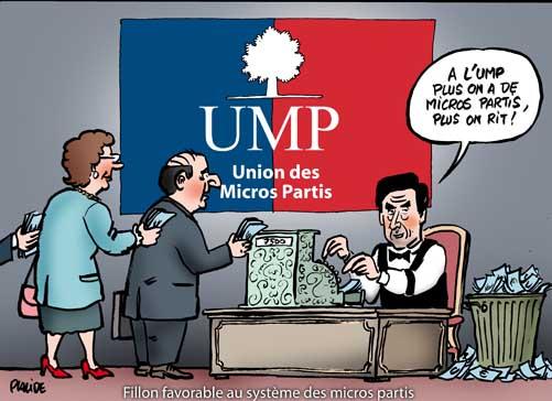 L'affaire Bettencourt: met en évidence le financement des micropartis