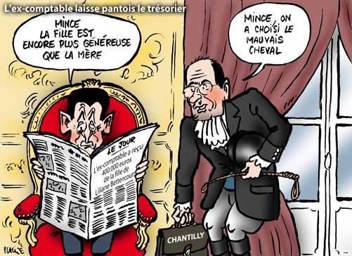 L'ex-comptable a reçu 400.000 euros de la fille de Liliane Bettencourt