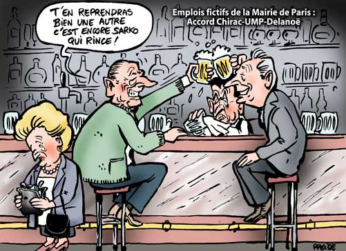 Le Conseil de Paris valide le deal Chirac-Delanoë