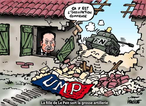 Marine Le Pen provoque un tollé avec ses propos sur l'occupation islamique