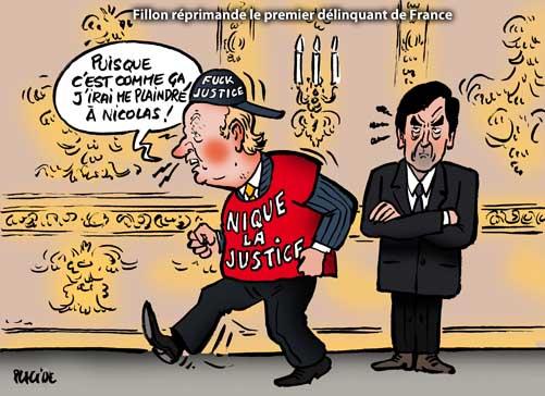 Fillon rappelle à l'ordre le premier flic de France