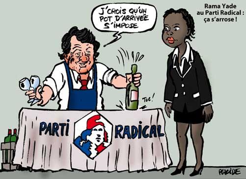 Rama Yade, une recrue de choix pour Jean-Louis Borloo