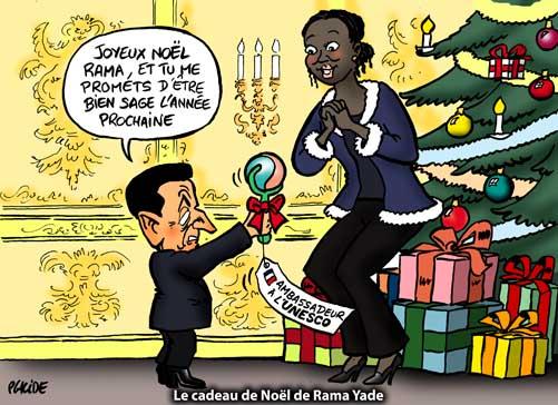 Humour   Un beau cadeau de Noël pour Rama Yade   24 Décembre 2010