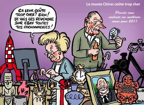 Le musée Chirac coûte trop cher aux contribuables de la Corrèze