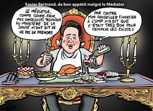 Xavier Bertrand prochaine victime du Médiator?