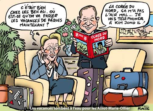 Alliot-Marie a profité du savoir-faire de Ben Ali pour ses vacances