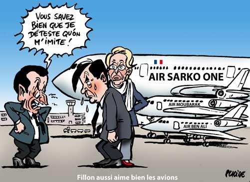 Fillon a profité d'un avion de Moubarak pendant ses vacances en Egypte