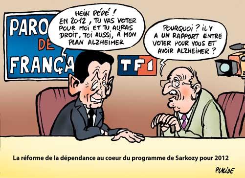 Sarkozy sur TF1 dans
