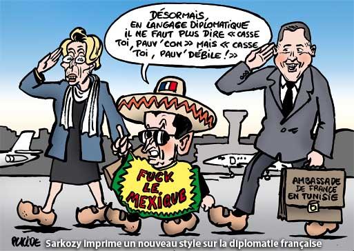La diplomatie sarkoziste fait de moins en moins l'unanimité