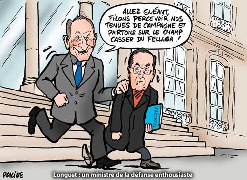Premier Conseil des ministres pour Longuet et Guéant