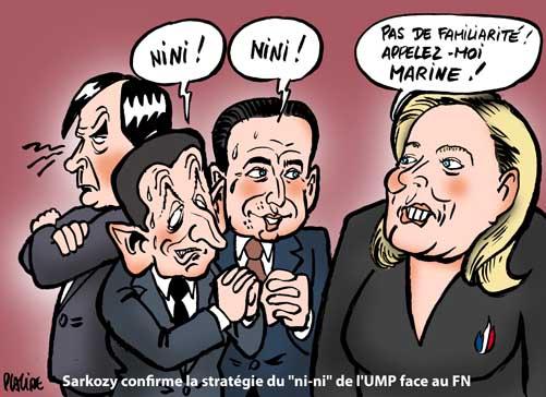 Cantonales: Face au FN, Fillon pour le front républicain et Sarkozy contre