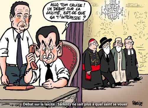 Laïcité: Les religions refusent d'assister au débat lancé par l'UMP