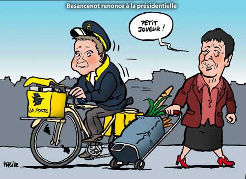 Élysée 2012: Besancenot ne sera pas candidat