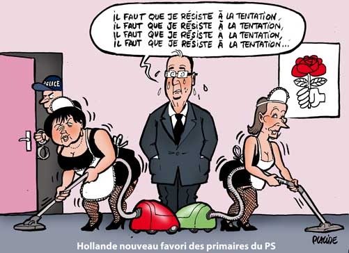 Hollande favori des primaires du PS