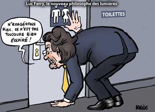 Pédophilie : Luc Ferry balance un ex-ministre sans le nommer