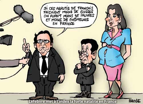 Pour Lefebvre, la forte natalité en France responsable du niveau du chômage