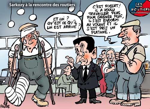 Sarkozy ressort son
