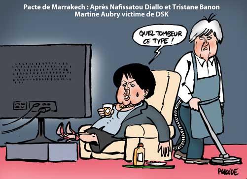 L'annonce du pacte avec DSK plombe la campagne de Martine Aubry