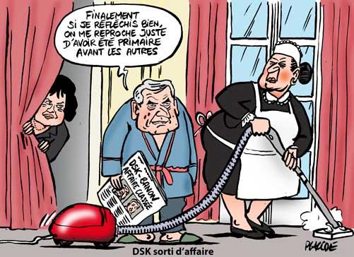 Affaire DSK-Tristane Banon classée sans suite