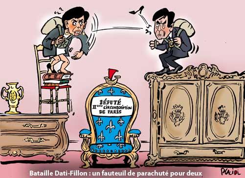Législatives ; Rachida Dati balance sur le parachutage de Fillon à Paris