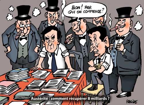 Sarkozy et Fillon préparent un plan d'austérité pour lundi