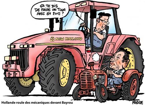 Hollande fait un appel du pied à Bayrou pour 2012
