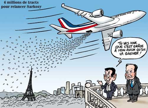 Un tract à 6 millions d'exemplaire pour rétablir le bilan de Sarkozy