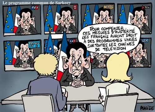 Les dernières mesures de Sarkozy