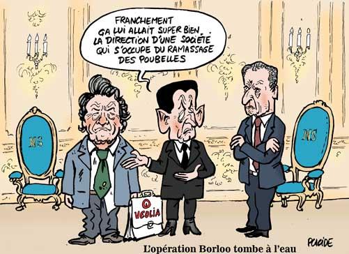 L'opération Borloo à Veolia tombe mal pour Sarkozy