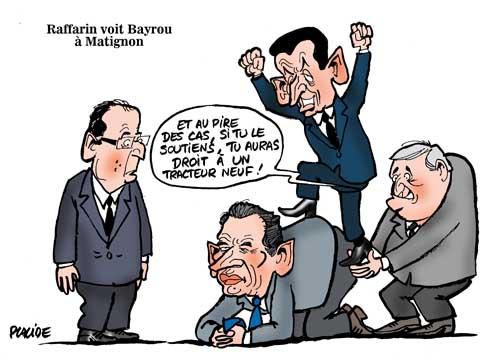 Raffarin verrait bien Bayrou à Matignon