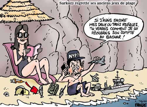Syrie : Sarkozy sort de son silence