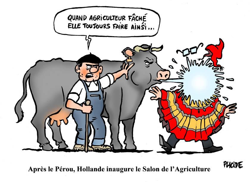 Placide hollande inaugurera la 53e salon de l 39 agriculture en pleine crise des leveurs - Prix d entree du salon de l agriculture ...