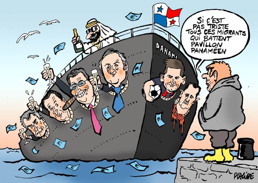 Exceptionnel Humour - «Panama Papers»: les migrants fiscaux révélés - 05 Avril  XJ46