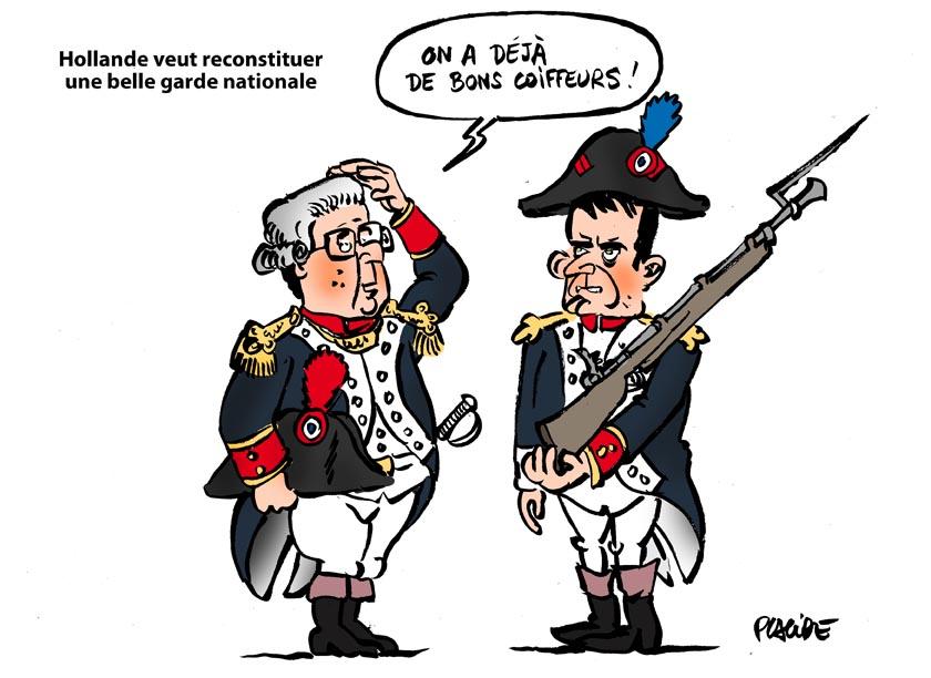 Placide Hollande Confirme La Constitution Dune Garde