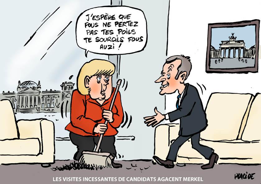 Le dessin du jour (humour en images) - Page 4 17-03-17-merkel-macron
