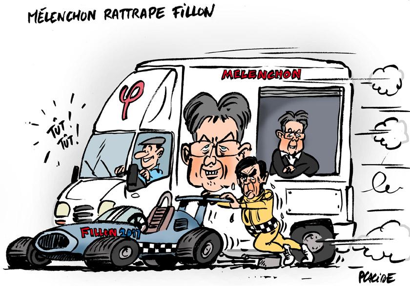 Le dessin du jour (humour en images) - Page 4 17-04-03-melenchon