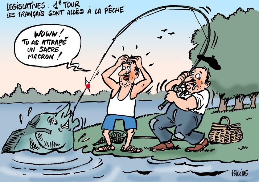 Le dessin du jour (humour en images) - Page 6 17-06-11-macron
